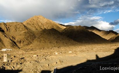 trekking cerca de Leh paisaje