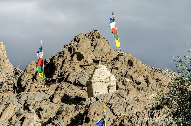 trekking cerca de Leh monasterio saboo