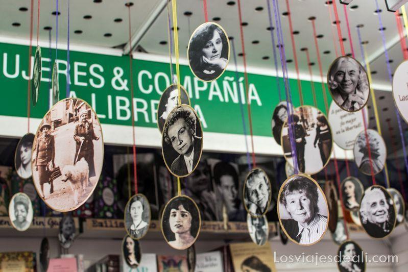 librería mujeres & compañía en la feria del libro