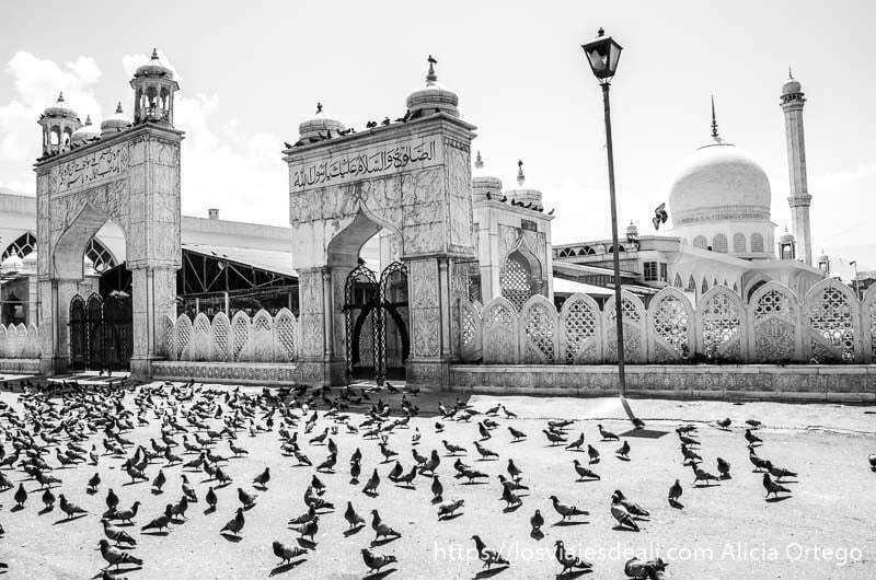 mezquita de srinagar