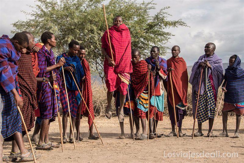 danza tradicional tribu Masai