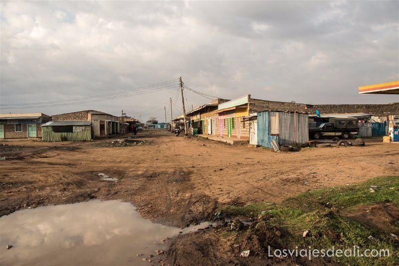 imagenes y sensaciones de Kenia y Tanzania pueblo