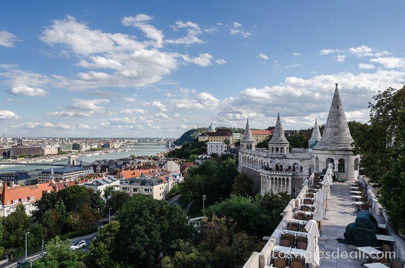 Budapest desde las alturas Bastión de los Pescadores