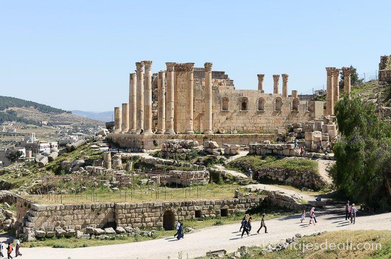 ruinas de jerash jordania