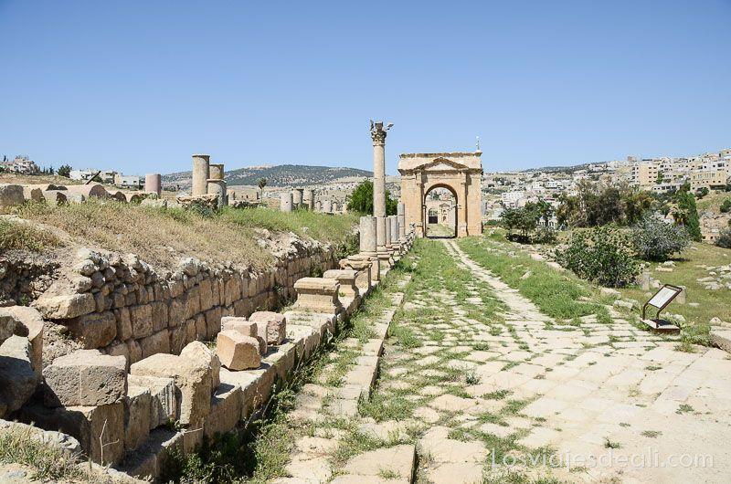 ruinas de jerash puerta
