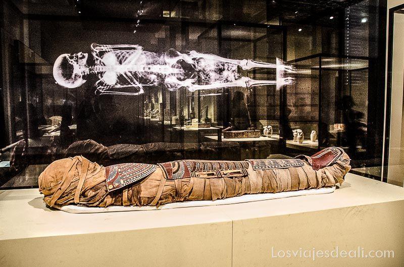 Museo Arqueologico Nacional de Madrid momia