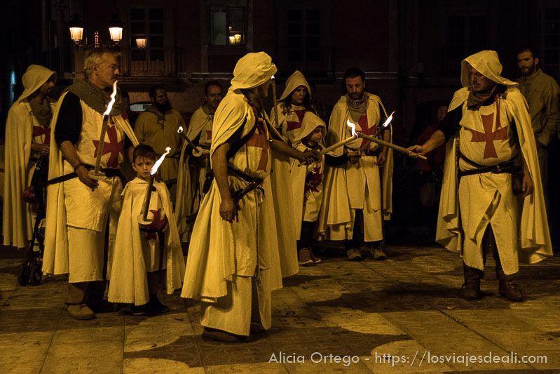fin de semana cidiano desfile antorchas