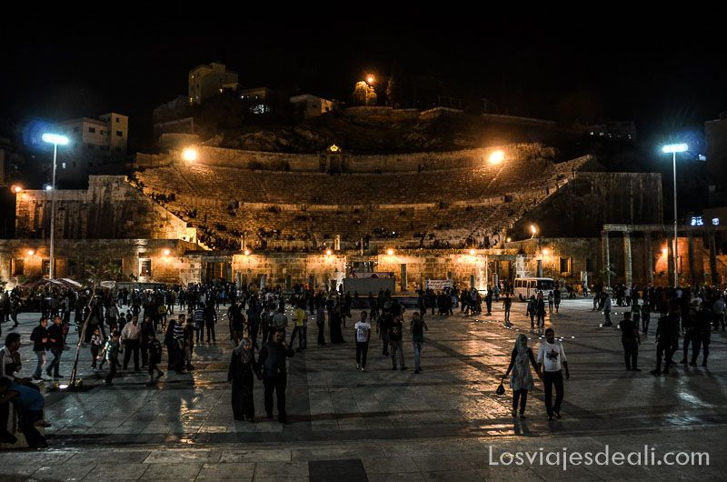 Amman teatro romano del centro