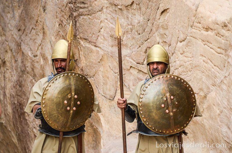 Petra guardianes