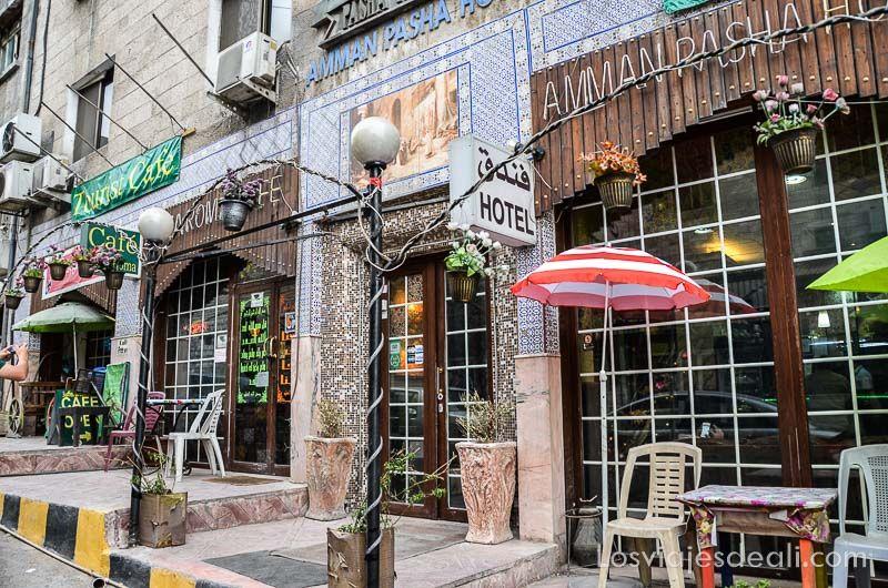 restaurante en Amman Jordania