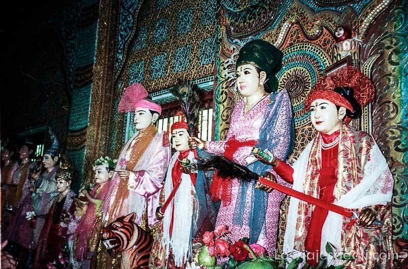 myanmar dioses