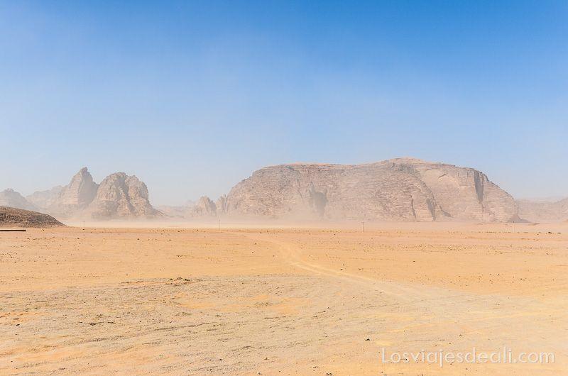 desiertos del mundo Wadi Rum en Jordania