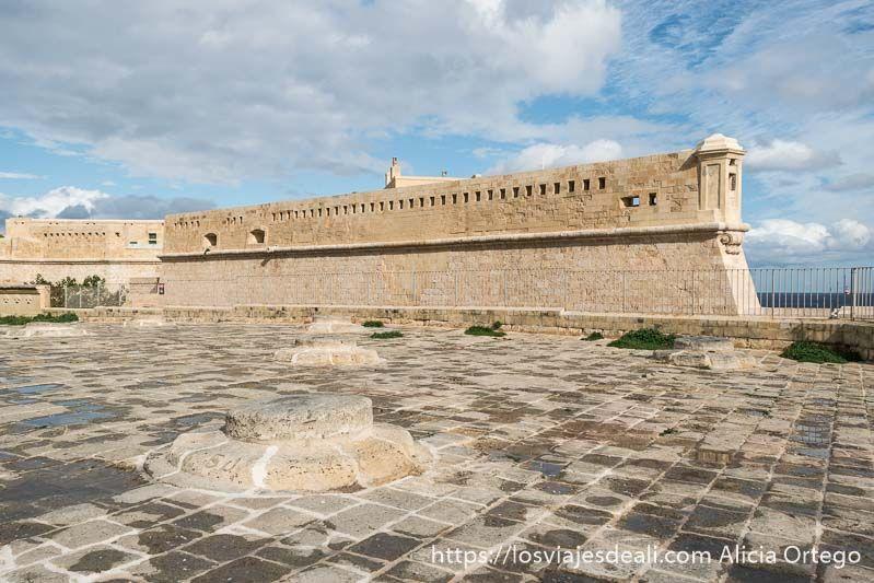 fuerte de Sant Elmo en La Valeta