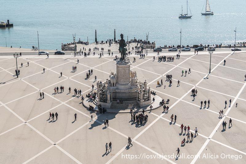 Lisboa en 20 fotos plaza del comercio