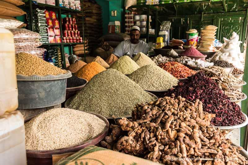 primer día en Sudán visitando el mercado de Dongola