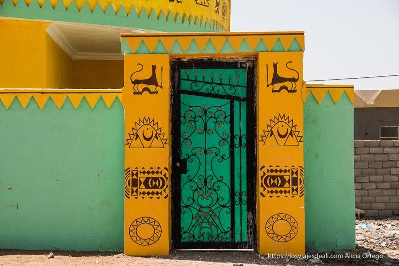 casa nubia de Kerma en Sudán