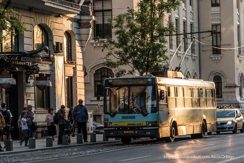 autobus urbano de Bucarest