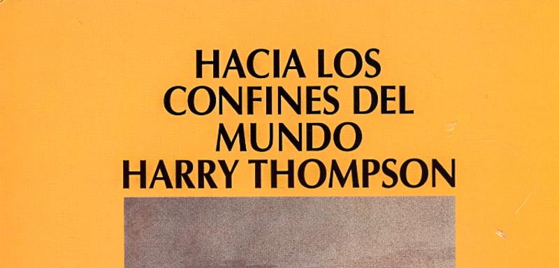 lecturas de verano harry thompson