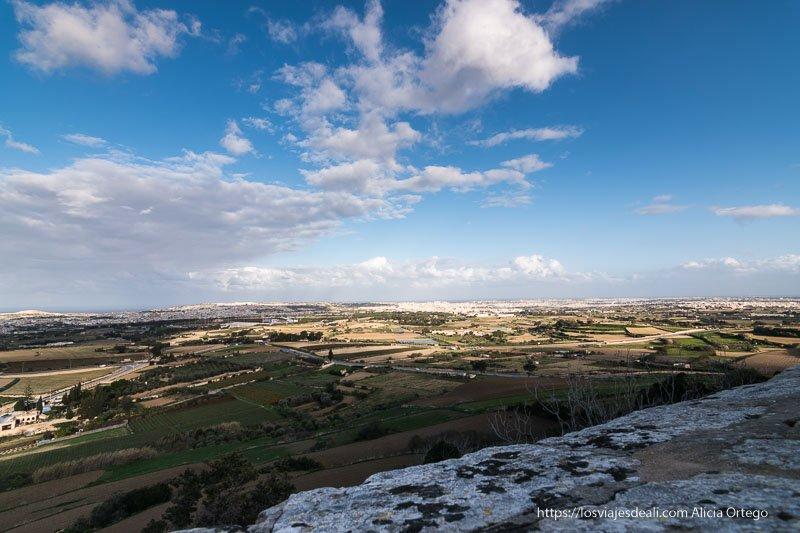 vistas de la isla de Malta en visita a Mdina y Rabat