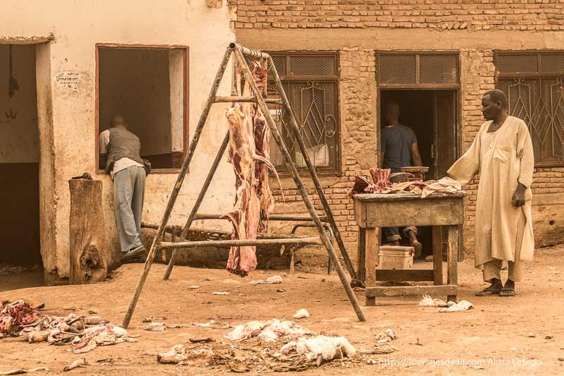 carnicería de Sudán bajo la gran tormenta de arena