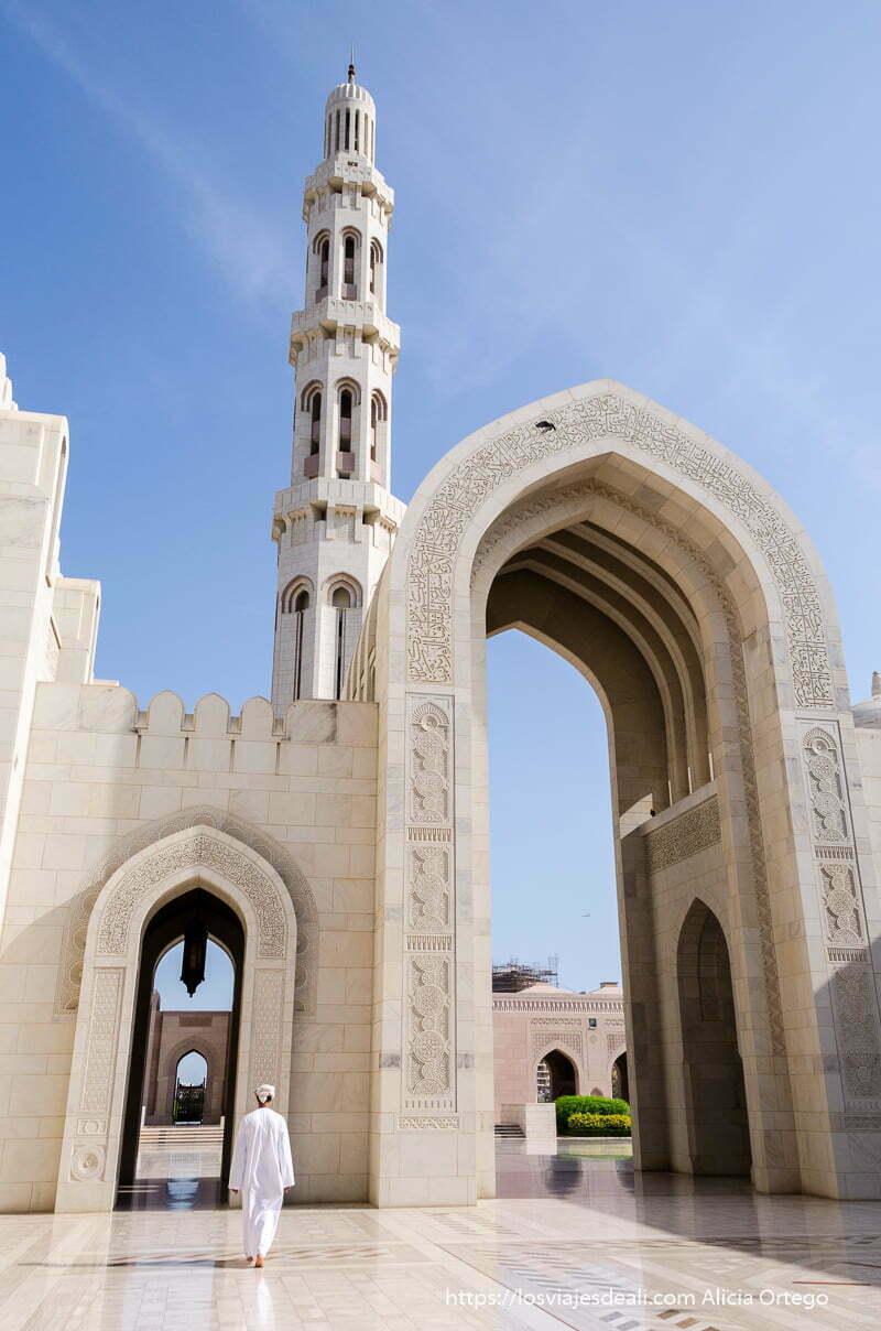 mezquita del sultán qaboos en Muscat