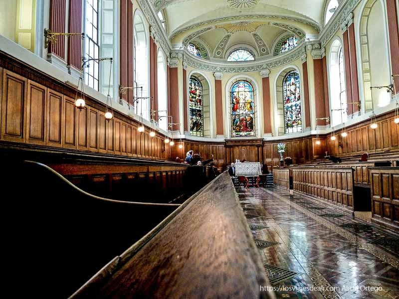 capilla de Trinity college