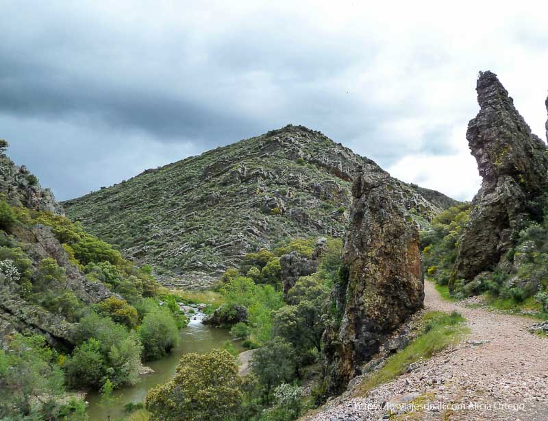 Ruta del Boquerón de Estena en Cabañeros, Ciudad Real