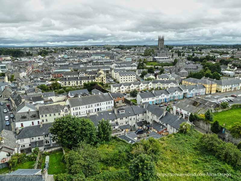 vistas de kilkenny desde arriba