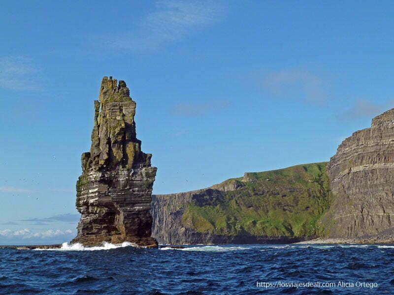 acantilados de moher 3 semanas en Irlanda