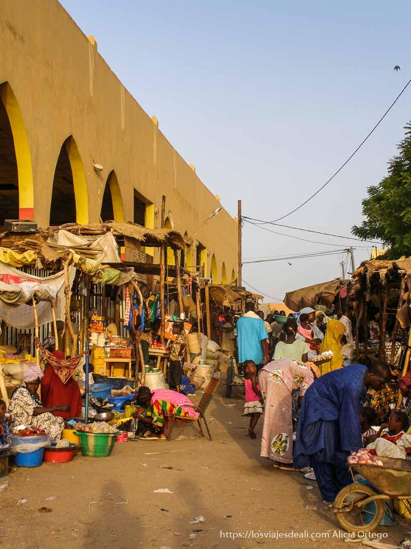calle del mercado de gao