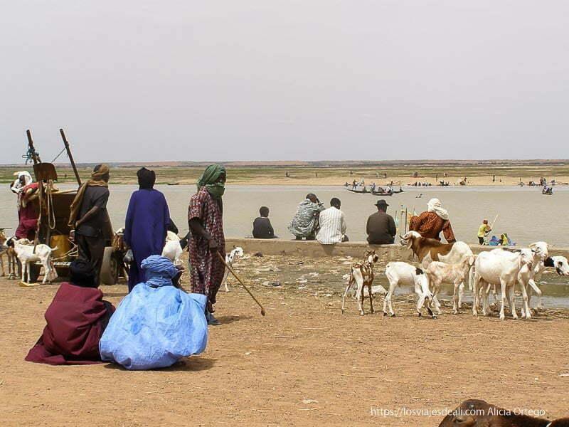 tuareg en el puerto de gao