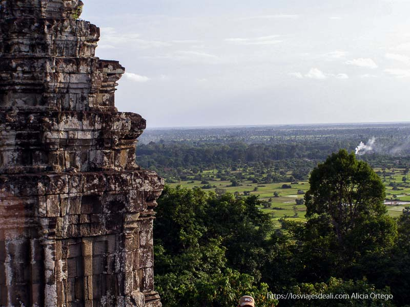 vistas desde templos de angkor
