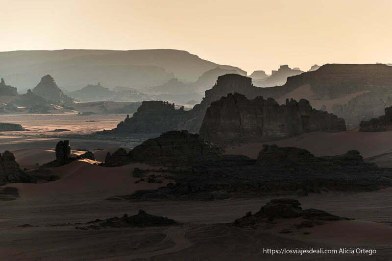 atardecer en tin merzouga paisajes del sahara