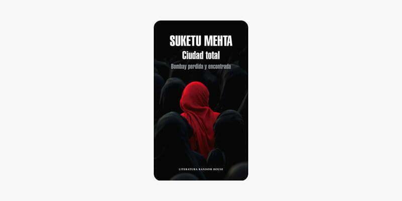portada de libro ciudad total con mujer con pañuelo rojo entre otras con pañuelo negro libros para el verano