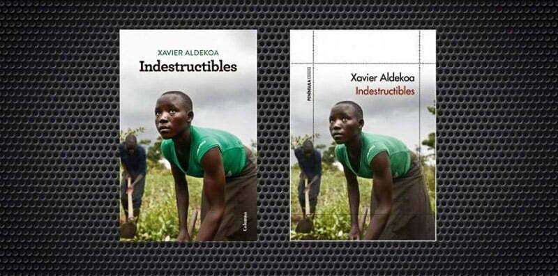 portada del libro Indestructibles donde se ve a una chica africana labrando un campo