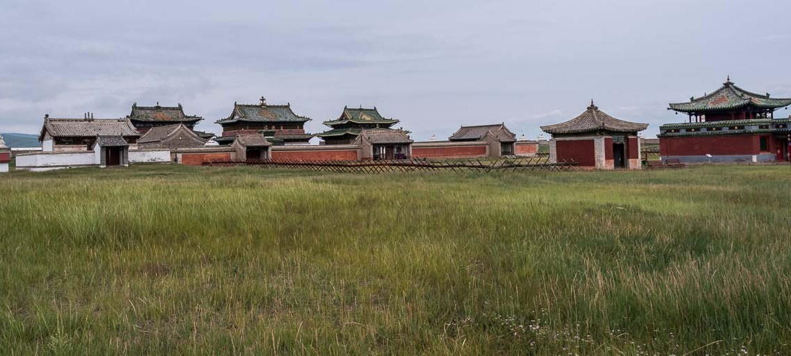 templos de karakorum en mongolia