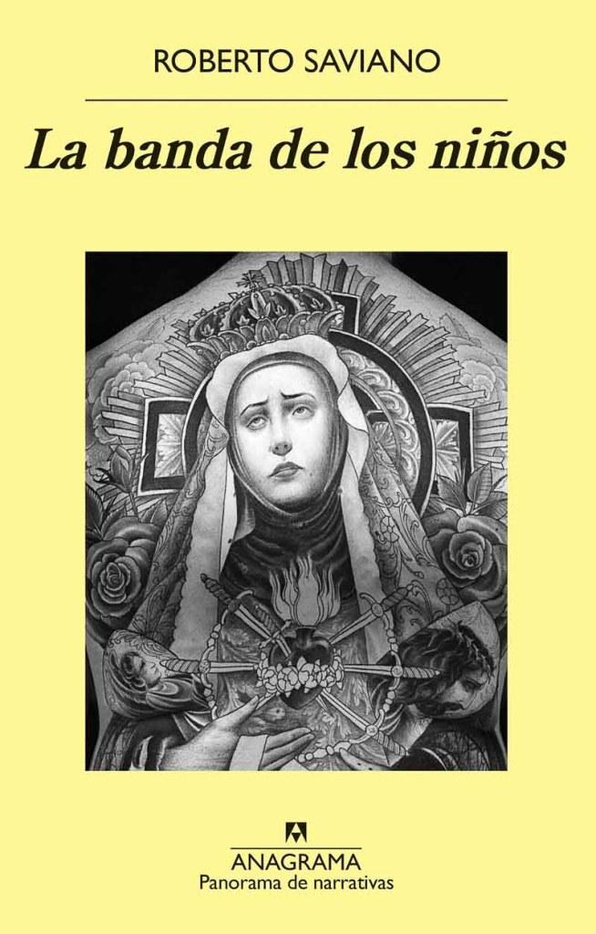 portada de libro La banda de los niños de Roberto Saviano