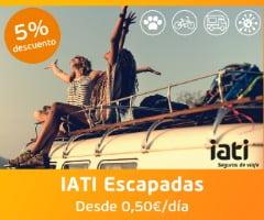 IATI Escapadas descuento 5%