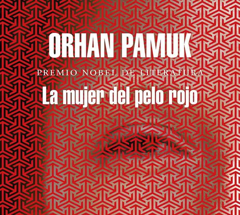 portada de La mujer del pelo rojo de Orhan Pamuk
