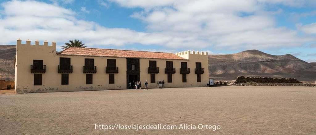 Casa de los Coroneles en La Oliva (Fuerteventura)