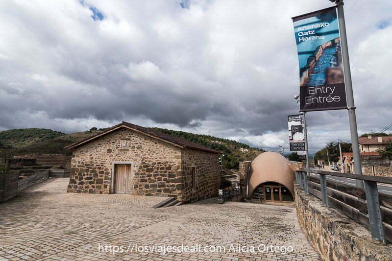 entrada al Valle Salado
