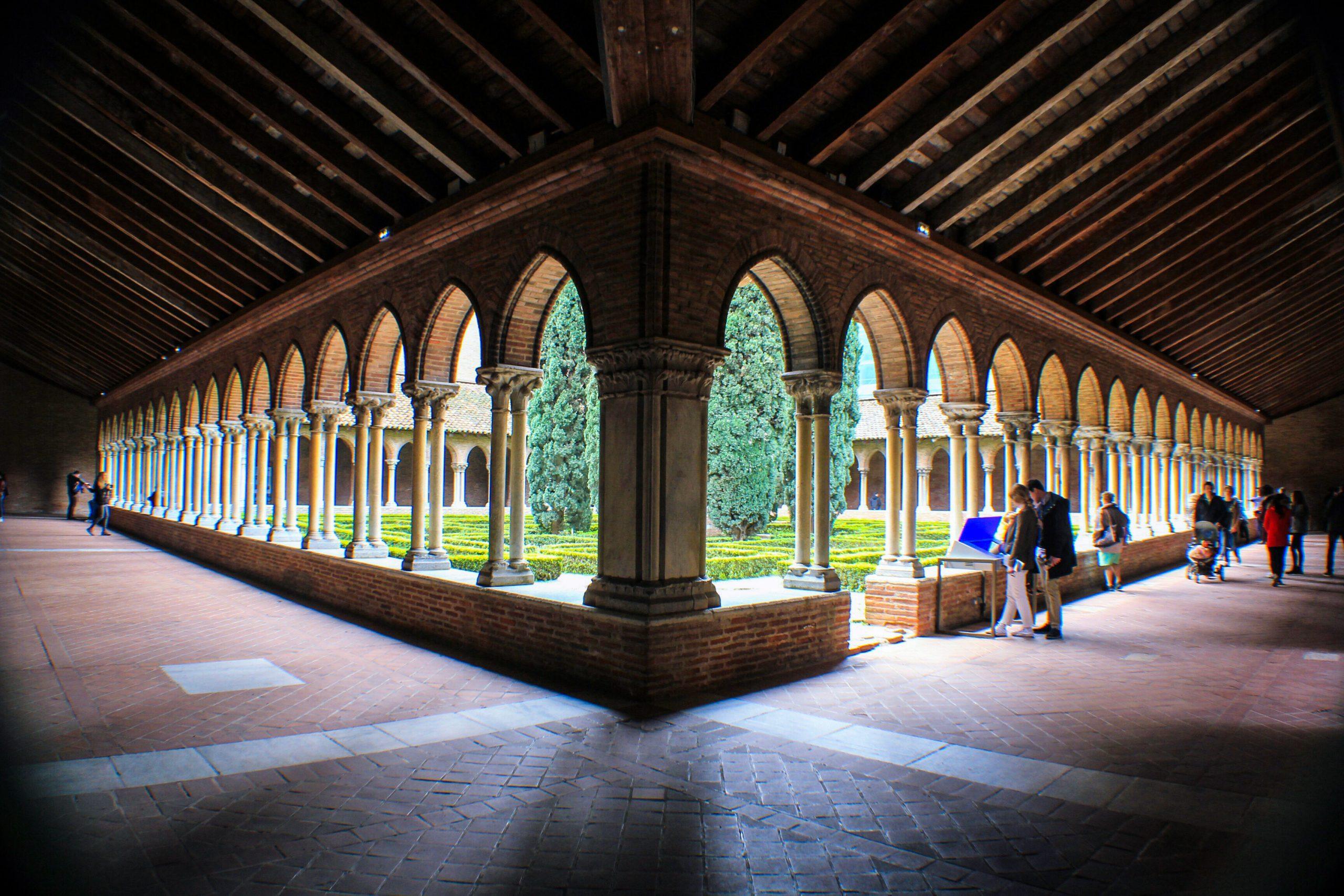 Claustro del convento de los jacobinos, imprescindible ver en Toulouse