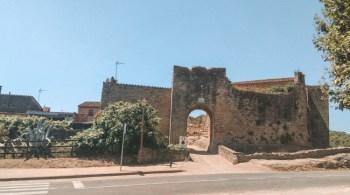 Peratallada, Portal de la Virgen