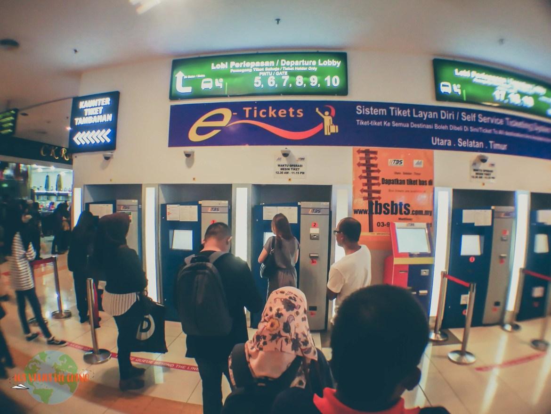 cómo ir desde Kuala Lumpur a Pulau Kapas