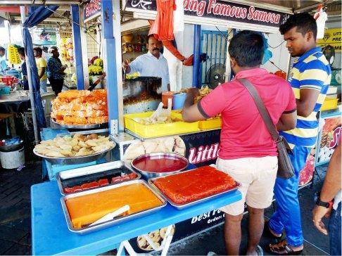 Street food Georgetown