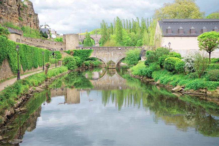 Un fin de semana en Luxemburgo
