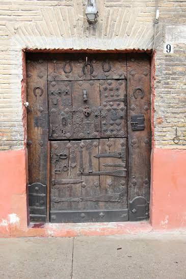 -Puerta Calle Curtidores, Estella.Navarra-