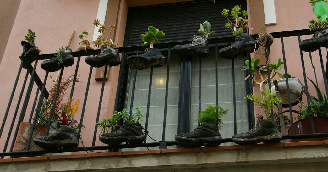 -Balcón peregrino, Estella-