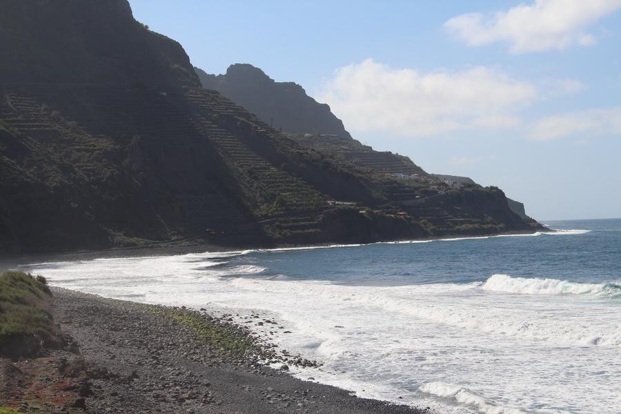 PLaya Santa Catalina. Hermigua, La Gomera