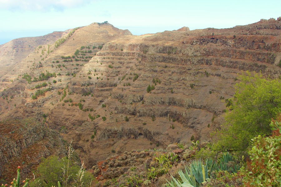 Barranco Gran Rey. La Gomera